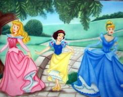 Painel as princesas