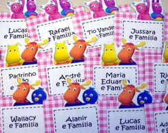 TAGS NOMINAIS SCRAPBOOK - BACKYARDIGANS
