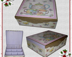 Caixa de ch� borboletas