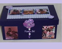 Caixa Presente com fotos