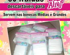 30 fraldas desc p\ baby alive G e M comprar usado  Brasil