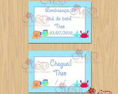 Cart�o ch� de beb� e nascimento