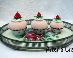 Cupcakes 3 tamanhos Mini, M�dio e Padr�o