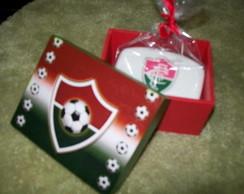 caixa de sabonete do Fluminense