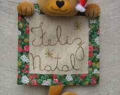 painel feliz natal gato