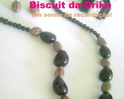 Colar Jarina Negra Necklace