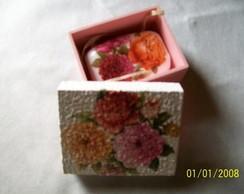 caixa de sabonete
