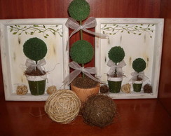 Kit decorativo Topi�rias