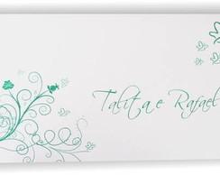 Convite de Casamento Modelo BALLY