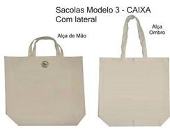 Sacola ecol�gica lisa, sacola para artes
