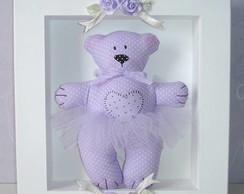 Porta Maternidade -Urso Lil�s- Modelo 1A