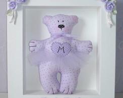 Porta Maternidade -Urso Lil�s- Modelo 2B