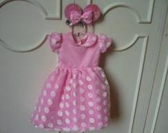 Vestido Minnie americana