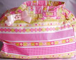 [SOB ENCOMENDA] Bolsa maternidade pink