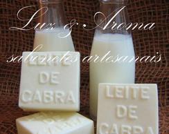 Sabonete com leite de cabra
