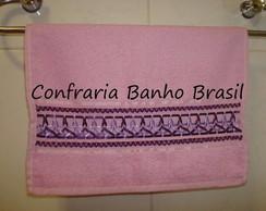 Toalha lavabo lil�s