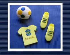 Sabonete Kit Brasil Verde e Amarelo