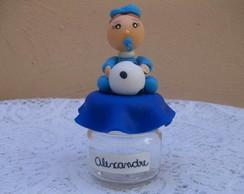 Lembrancinha nascimento menino com bola