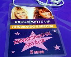 Convite Passaporte / Credencial
