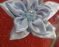 Broche Blue Flower