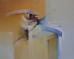 Quadro Abstrato Pastel
