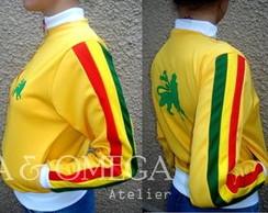 Jaqueta Reggae Omega amarela(JQ/F 03-10)