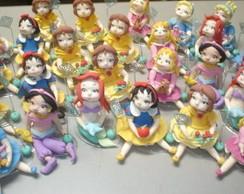 PORTA RECADOS BABY PRINCESAS - 6 MODELOS