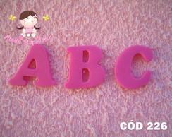 C�d 226 Molde alfabeto completo