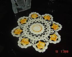 Toalhinha motivo floral