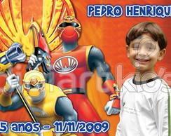 �m� personalizado: Power Ranger