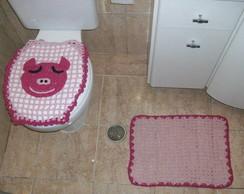 Jogo de banheiro Porquinho!!!!