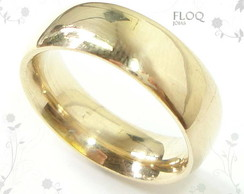 Alian�as Floq ouro 18K mod. anat�mico*