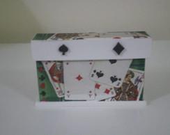 192: Porta baralho verde