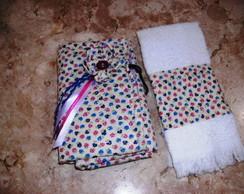 Organizador de bolsa e toalha