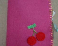 Porta absorvente e protetor Cereja