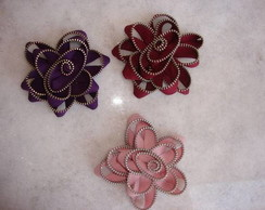 broches de ziper