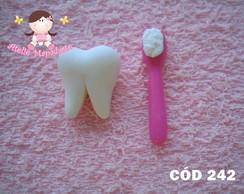 C�d 242 Molde de dente com escova P
