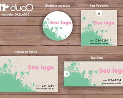 duoO eco 005 - cart�es, tags, adesivos