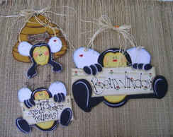 Conjunto abelhinhas