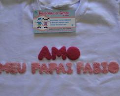 HOMENAGEM AO PAPAI ( camiseta infantil )