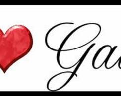 ~ Plaquinha/Little Plate Eu ♥ Gabriel ~
