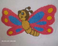 borboleta em ponto russo