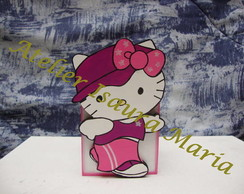 PORTA L�PIS HELLO KITTY