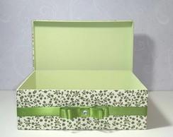 Caixas para Toilette Verde - Casamento