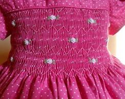 Lindo vestido po� rosa