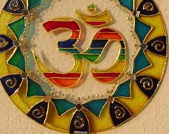 Mandala Transl�cida Ohm colorido MP-68