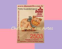 Pe�a Porta Guardanapo de Porco - 2503