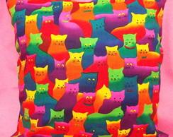 Capa de almofada gatinhos [cod4]