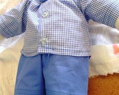Conjunto boneco Waldorf 56cm