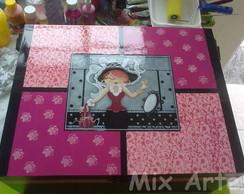 Caixa de Maquiagem - PINK JUMBO